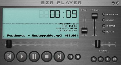 (BZR Player)موزیک پلیری با پشتیبانی بیش از 480 فرمت