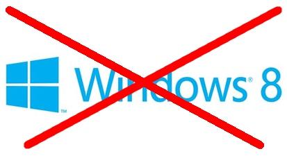 ویندوز ۸ مایکروسافت رد صلاحیت شد!