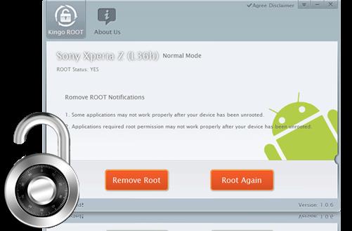 Kingo Root:روت کردن آندروید گوشی های مختلف تنها با یک کلیک