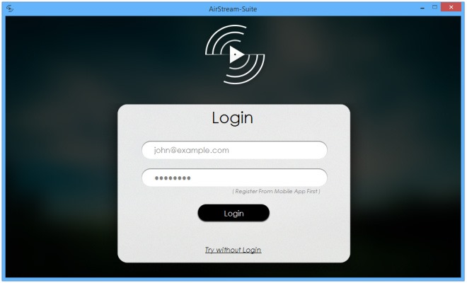 AirStream:نرم افزاری برای دسترسی فایل ها از طریق فضای هوا