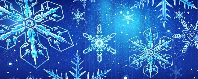 تصاویر زیبای دانه های برف سری 1 (15 عکس)