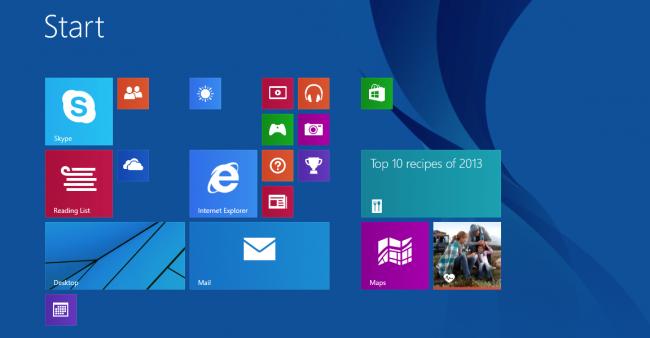 بازگرداندن صفحه شروع ویندوز 8 و 8.1 به حالت پیش فرض