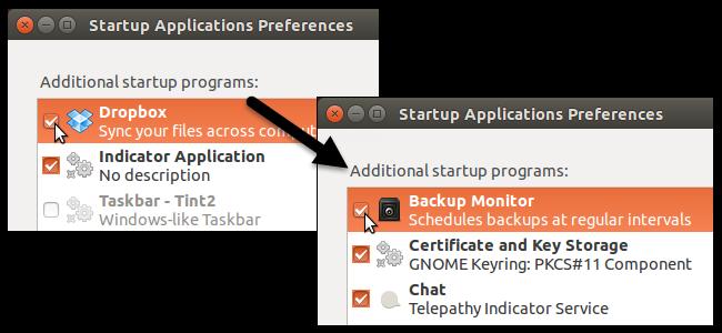 نمایش / عدم نمایش راه اندازی پنهان تمام برنامه های کاربردی در اوبونتو 14.10