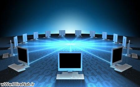 آموزش روش شبکه کردن دو کامپیوتر با کابل کراس